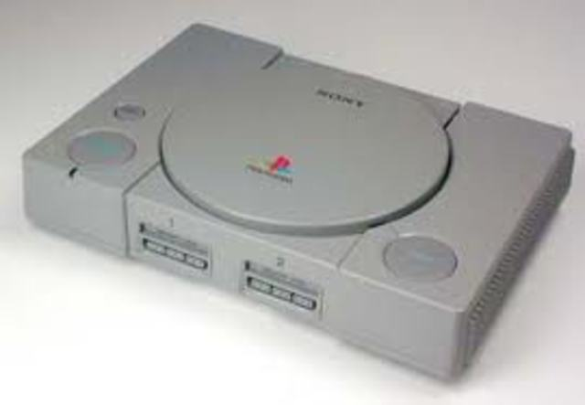 Sony releases its first PlayStation