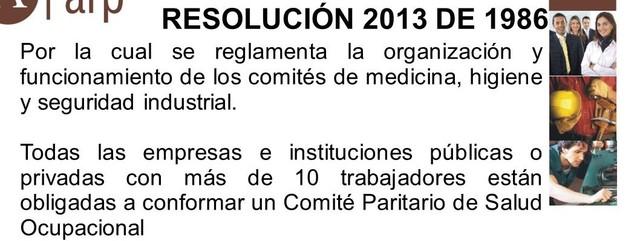 1986 organización de comités