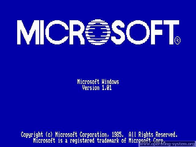 Microsoft Windows 1.0 ships