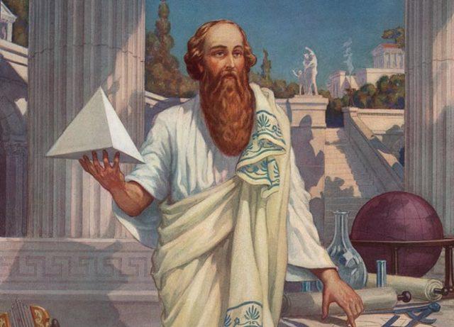 Pitágoras 569 a.C. a 465 a.C.