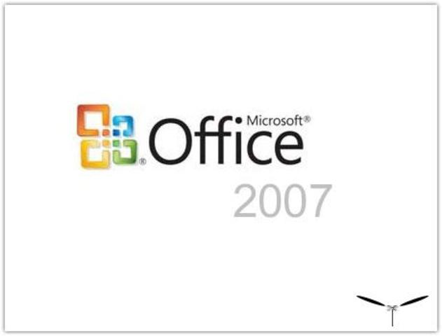 the 2007 Microsoft Office system