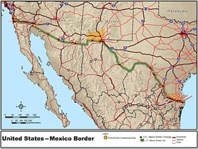 Se crea la frontera