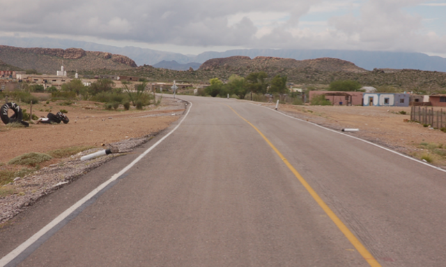 Primera carretera hacia Chihuahua