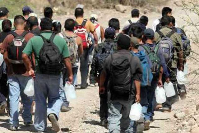 Repatriación de inmigrantes a México desde Estados Unidos.