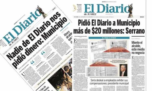Diario de Juárez en circulación