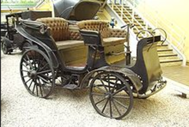First Patent Automobile
