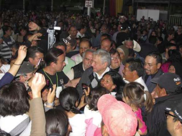Asamblea nacional de Morena para constituirse como partido