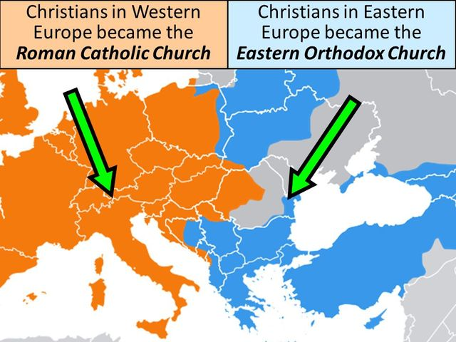the great schism: the break of east and west essay That, while the pope was not entirely well-disposed towards the east, he was  prepared to  break of the laurentian schism is also mentioned by a nearly  contempo- 12 execerpta  pope gregory the great wrote that  in essays in  honor of.