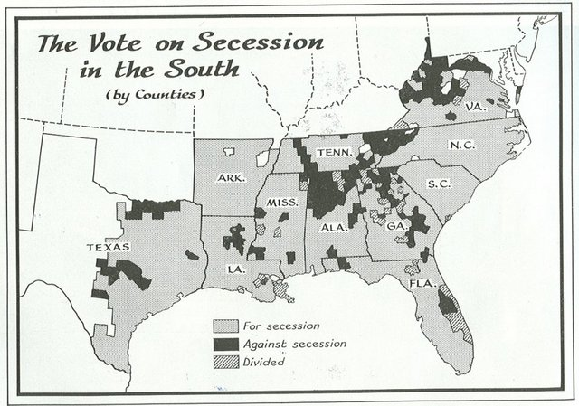 South Secedes from Union