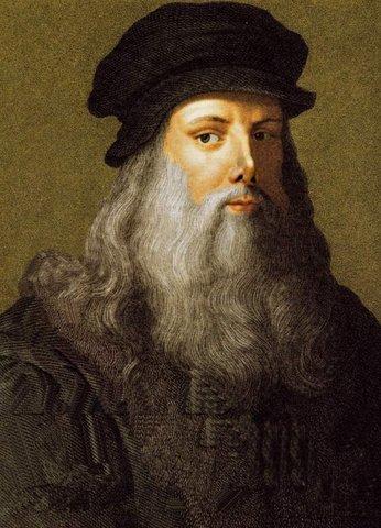 Leonardo da Vinci (Vinci, 15 de abril de 1452-Amboise, 2 de mayo de 1519)