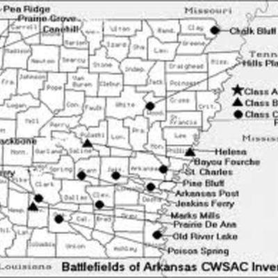Civil war in arkansas timeline