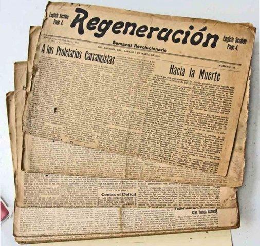"""Publicación del Periódico """"Regeneración"""""""