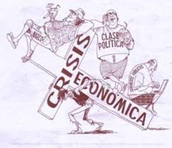 crisis economía mexicana