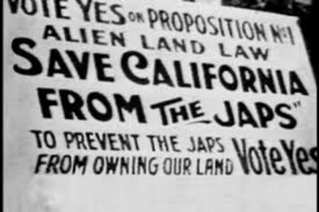 Immigration (Anti-Japanese Law in California)