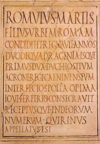 Acta Diurna, Roma antigua 69  a. de C.
