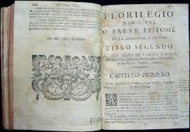 Primer libro en la Nueva España.