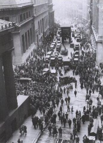 Stock Market Crash - Black Tuesday