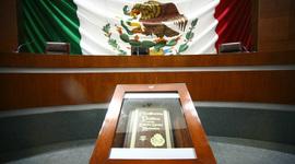 HISTORIA DEL SISTEMA CONSTITUCIONAL MEXICANO timeline