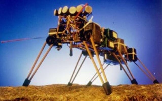 Genghis, a walking robot