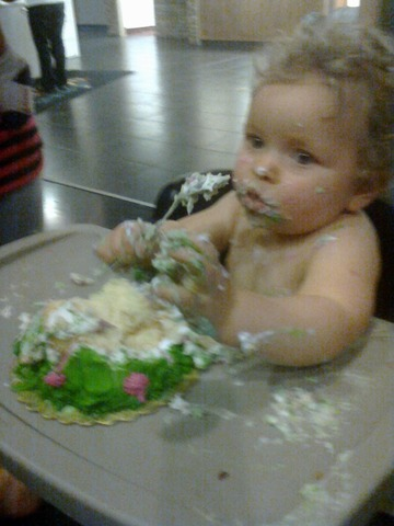 Holleys First Birthday!