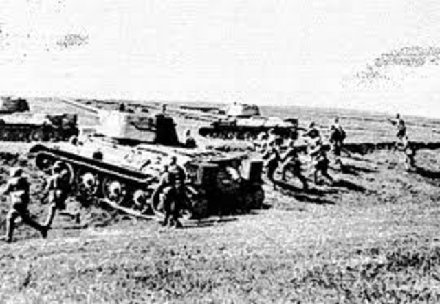 Germans fight on two fronts