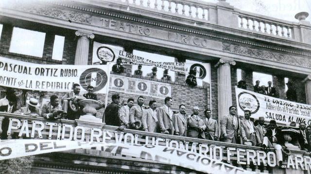 """Pascual Ortíz Rubio gana las """"dudosas"""" elecciones de 1929 [Político]"""