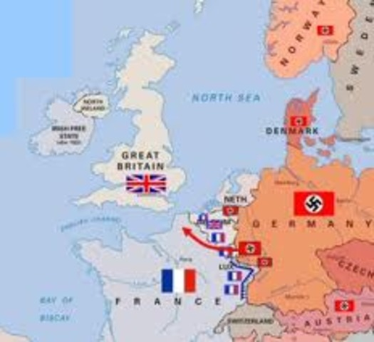 Germany invades France