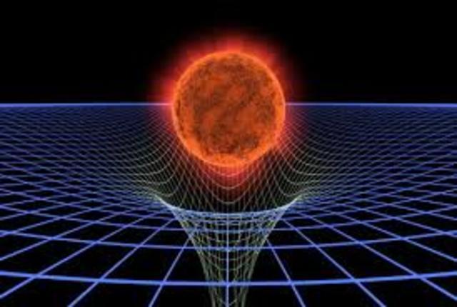 Einstein extendió la Teoría de la Relatividad