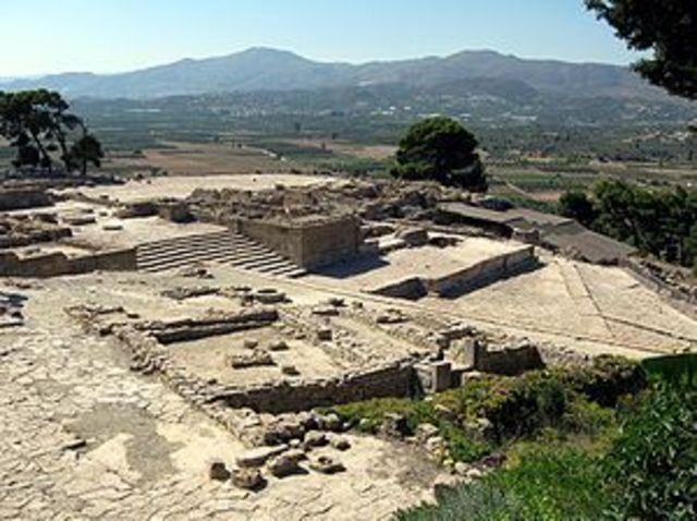 Формирование дворцовой цивилизации на острове Крит. Начало минойской культуры.