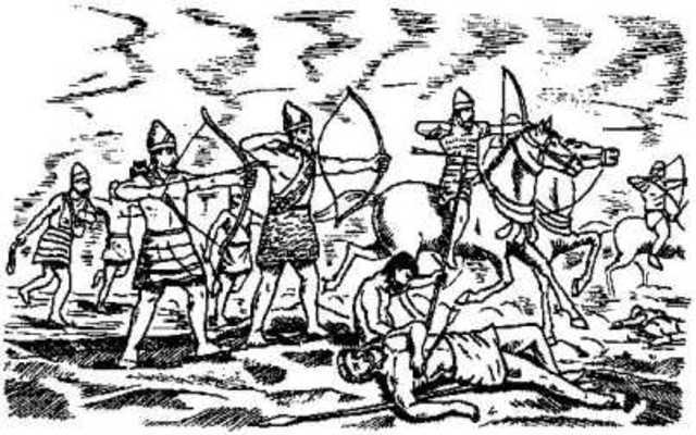 Произошла Марофонская битва, в результате которой афиняне отразили вторжение персов