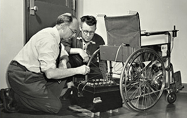 First Motorized Wheelchair
