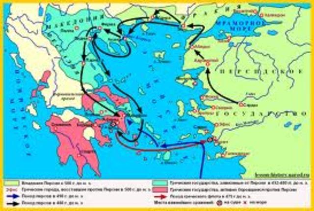 Конец греко-персидских войн