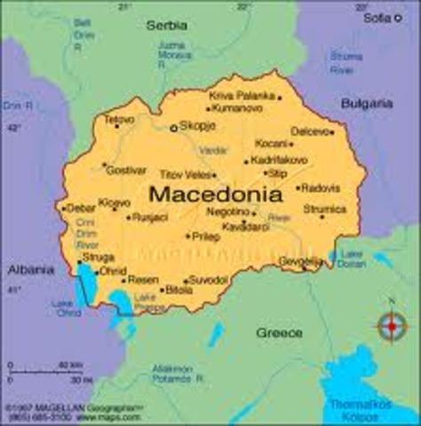 Установление македонского владычества в Греции