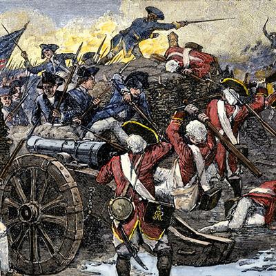 La Révolution américaine timeline