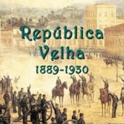 Republica velha 1889-1930 timeline