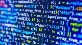 Desarrollo del lenguaje de programación. timeline