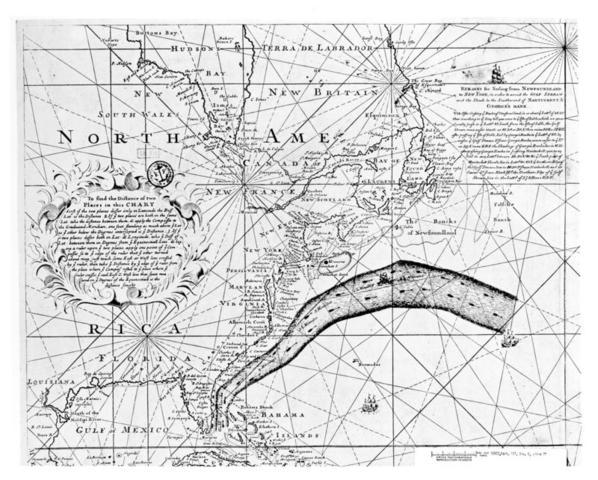 Elaboracion del Mapa de la corriente del golfo