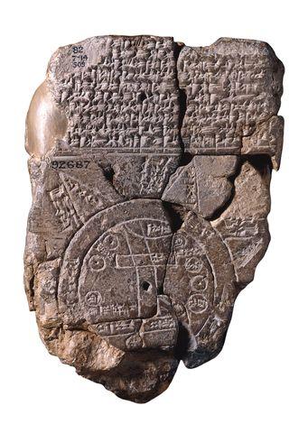 El mapa mas antiguo