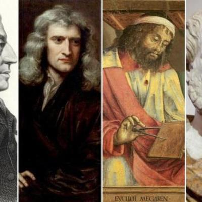 FUNDADORES DE LA CIENCIA timeline