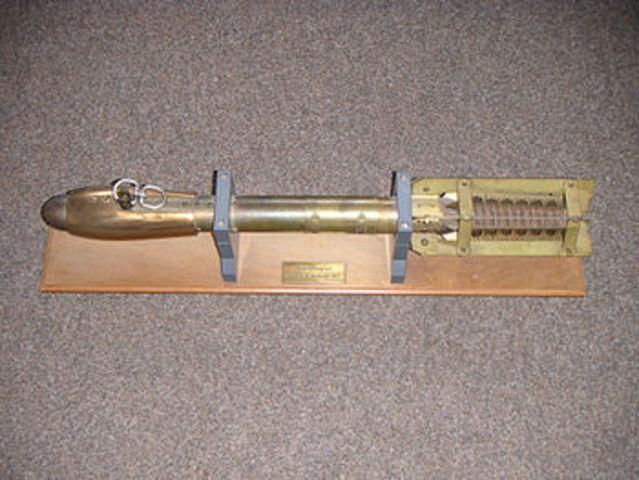 Invención del  batitermógrafo