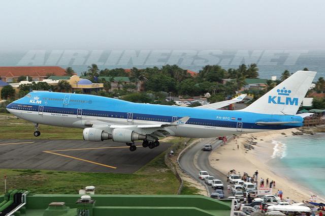 First 747 Flight