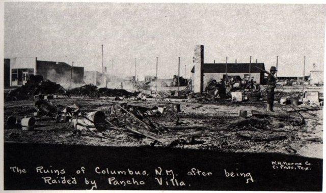 Villa ataca Columbus