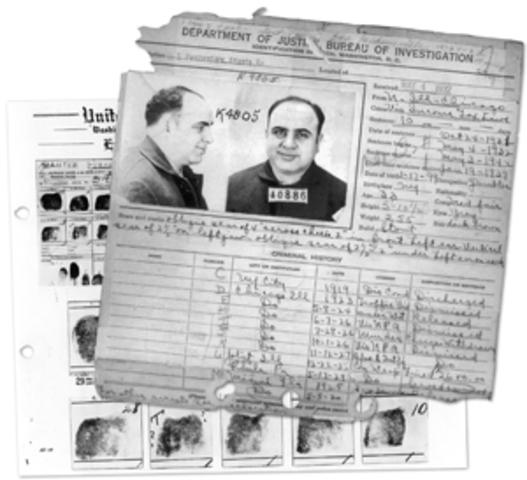 Al Capone Trial Take Place