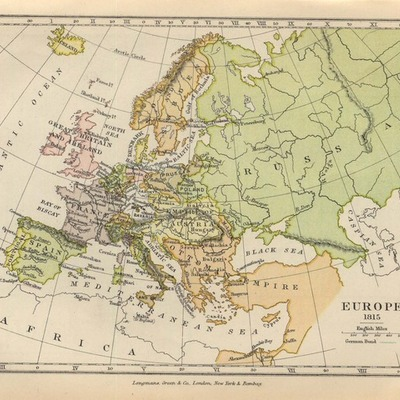 Modern Europe Timeline