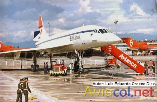 Concorde en El Dorado