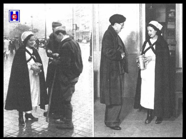 Enfermeras con uniforme