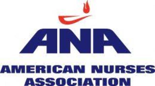 """En Estados Unidos  nace la """"AMERICAN NURSES ASSOCIATION (ANA)"""