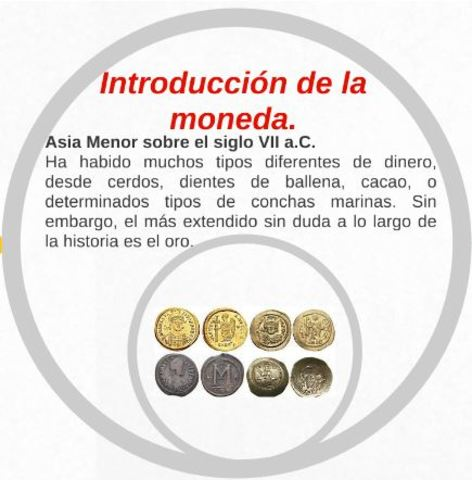 INTRODUCCION DE LA MONEDA