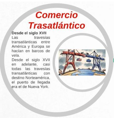COMERCIO TRASATLANTICO