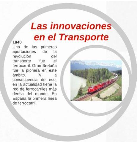 LAS INNOVACIONES EN EL TRANSPORTE
